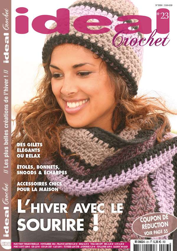 Magazine Ideal Crochet n 23 couverture