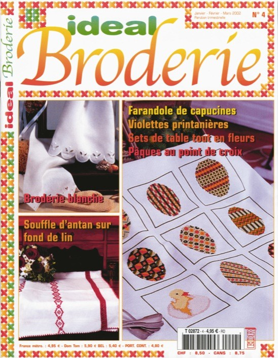 Ideal Broderie n°4
