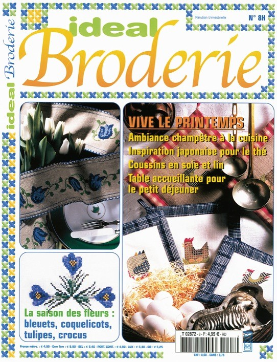 Ideal Broderie n°8