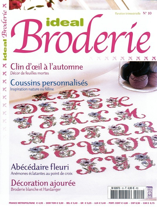 Ideal Broderie n°10