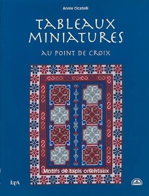 Tableaux miniatures au point de croix