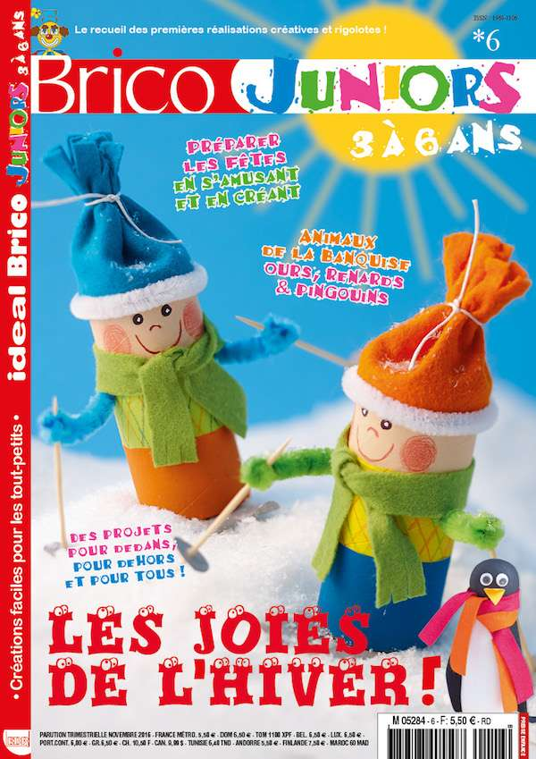 Ideal Brico Juniors 3a6 ans n6 couverture