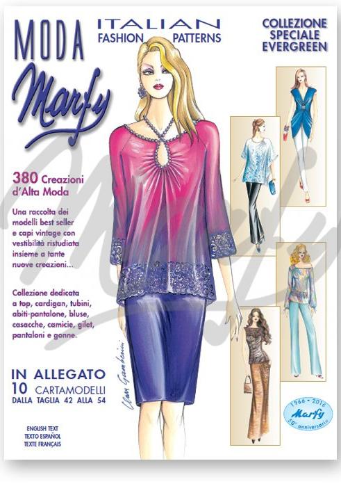 magazine Marfy mode italienne haute couture