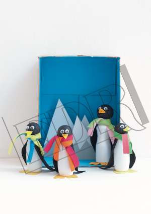 Ideal Brico Juniors 3-6ans bricolage famille pingouins