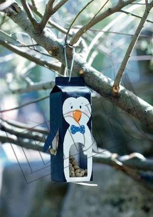 IdealBricoJuniors3-6ans-mangeoir-a-oiseau-pingouin