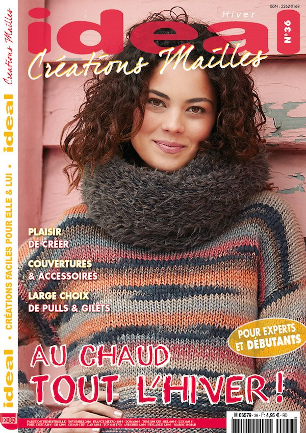 Magazine Ideal Creation Mailles n 36