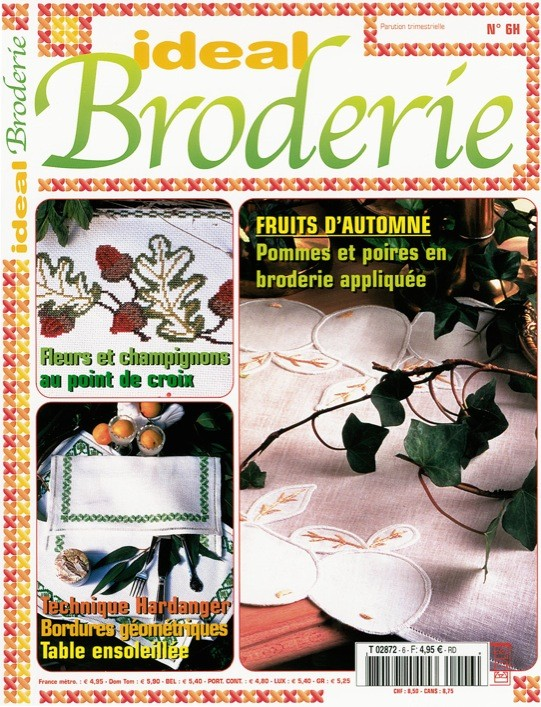 Ideal Broderie n°6
