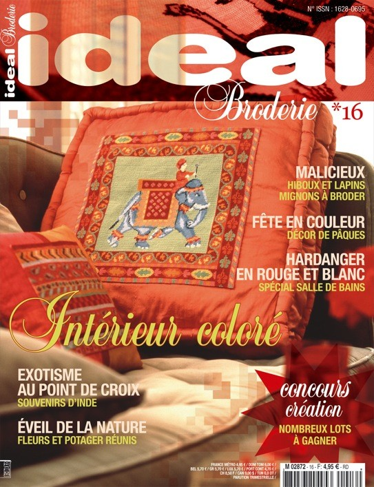 Ideal Broderie n°16