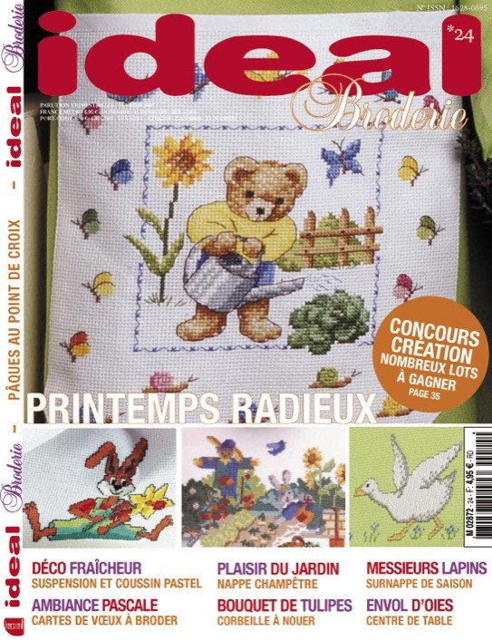 Ideal Broderie n°24