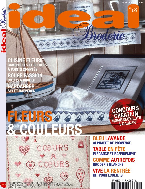 Magazine Ideal Broderie n 19