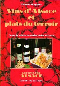 Livre Vins d'Alsace et plats du terroir