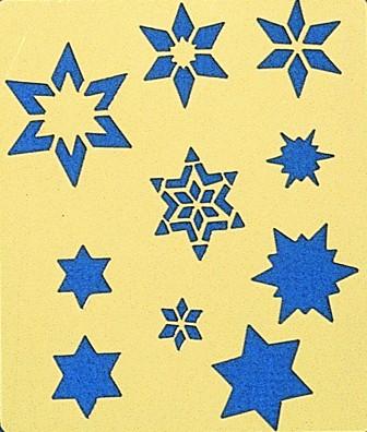 "Motif ""Diverses étoiles"""