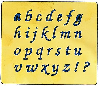 "Motif ""Alphabet minuscules"""