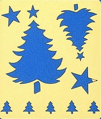 """Motif """"Sapins de Noël"""""""