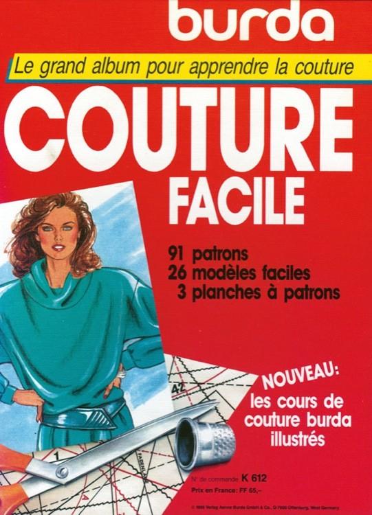 Livre Burda Couture Facile