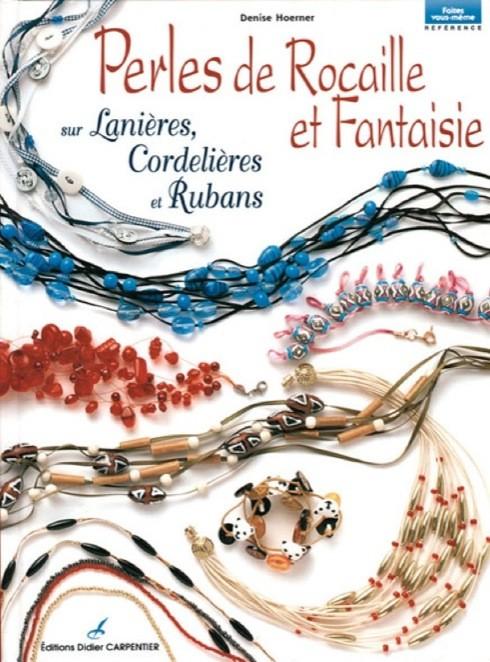 Livre Perles de rocaille et fantaisie
