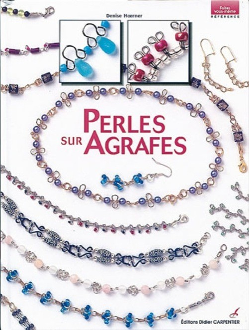 Perles sur agrafes