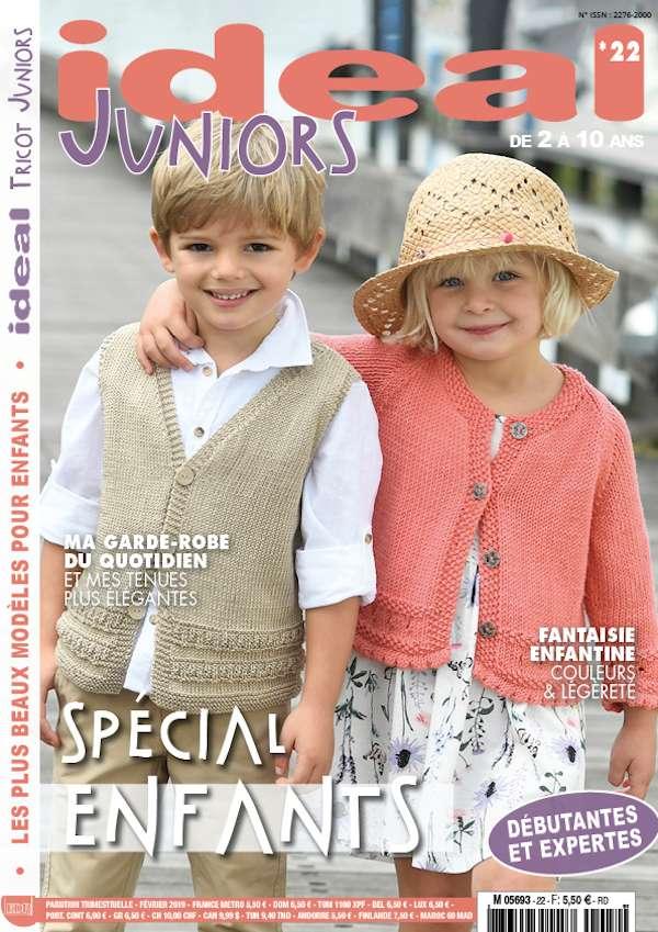 couverture ideal tricot juniors