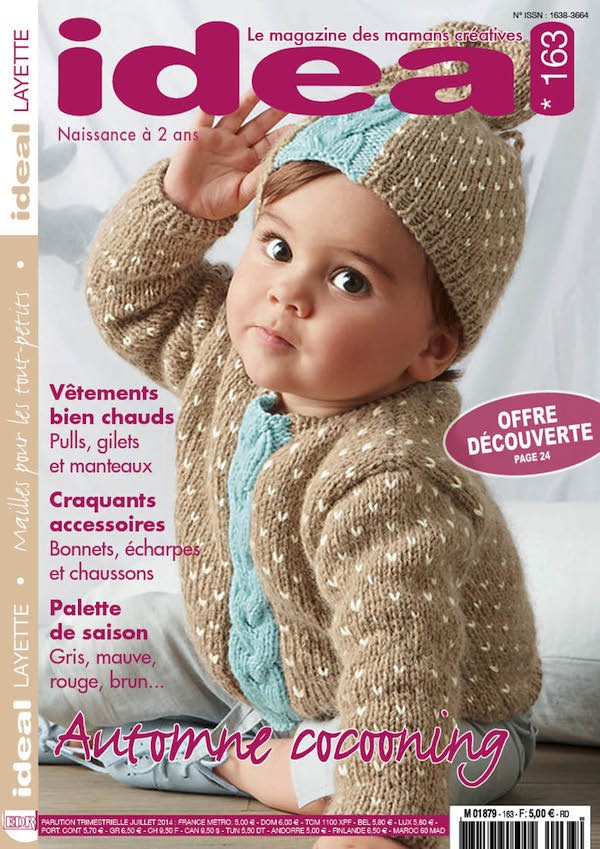 Ideal Layette n°163