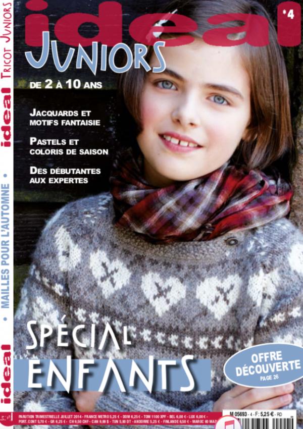 couverture ideal tricot juniors 4