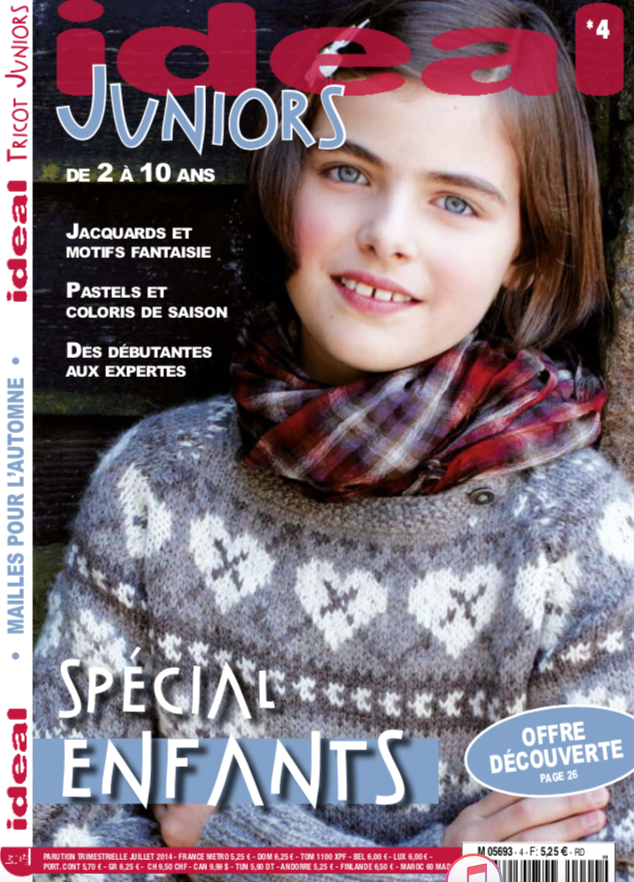 couverture ideal tricot juniors 4