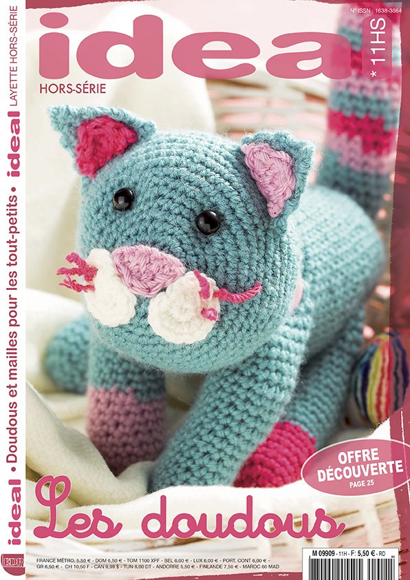 Ideal Layette Hors-série N°11 tricot doudou