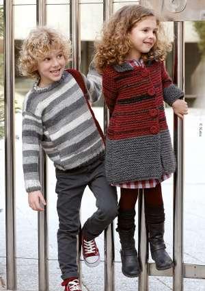 tricot enfant pull et gilet