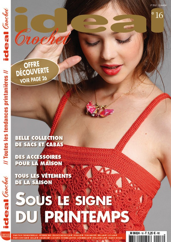 Ideal Crochet n°16 (nouvelle formule)