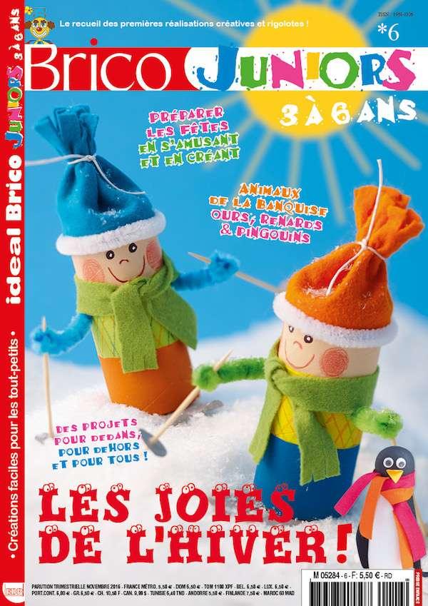 Ideal Brico Juniors 3a6 ans n6 couverture