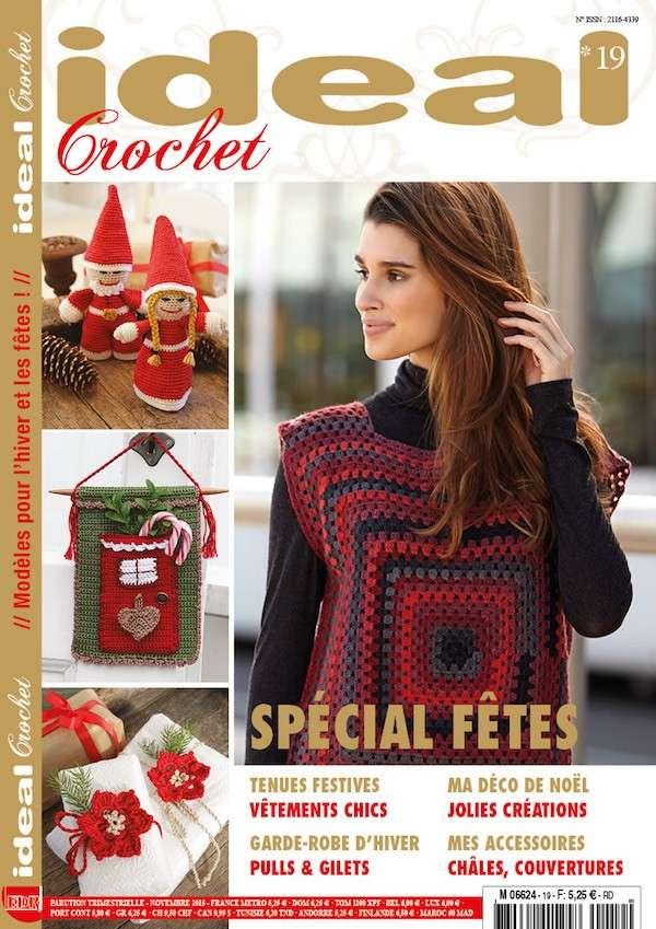 Ideal Crochet n°19 - nouvelle formule