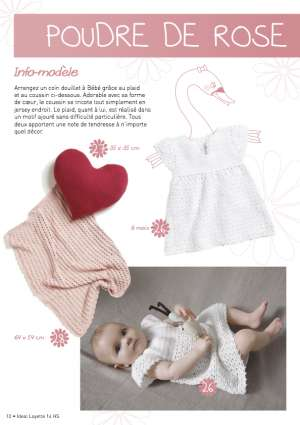 Ideal Layette Hors-Série 14 Robe Fillette