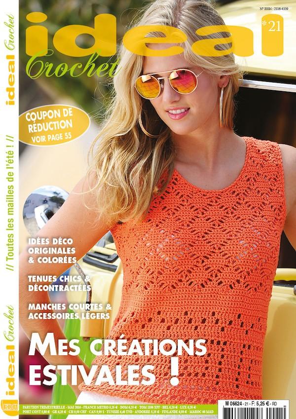 Ideal Crochet n°21 (nouvelle formule)