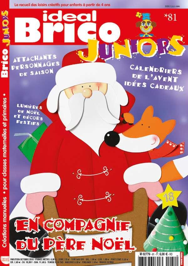 Ideal Brico Juniors n81 En compagnie du Pere Noel