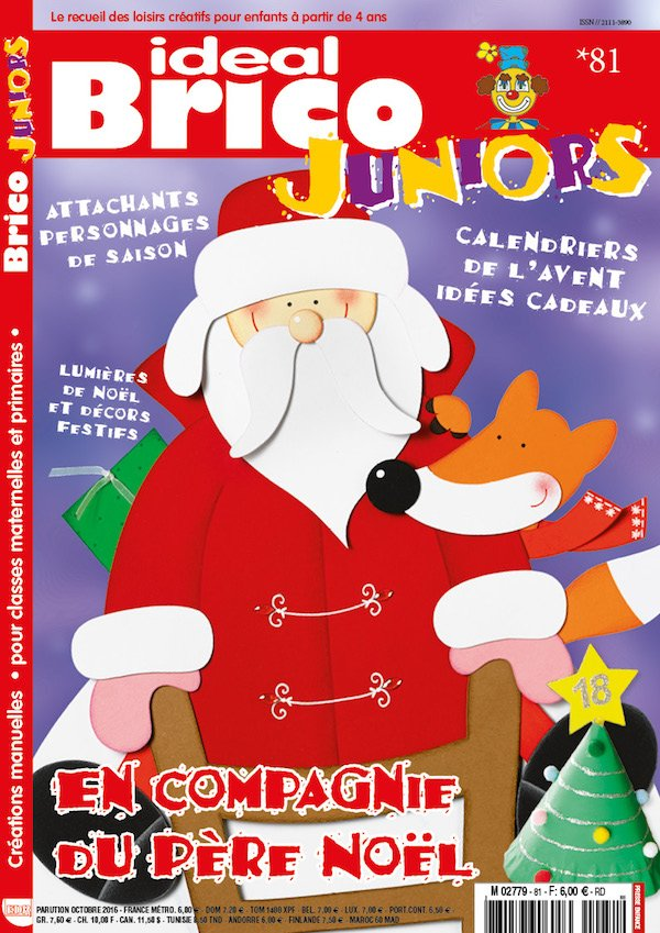 Ideal Brico Juniors n81 En compagnie du Pere Noel
