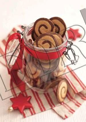 Ideal Pâtisserie recette biscuits Schwarz Weiss Schnecken