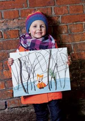 Ideal Brico Juniors 3-6ans bricolage hiver renard