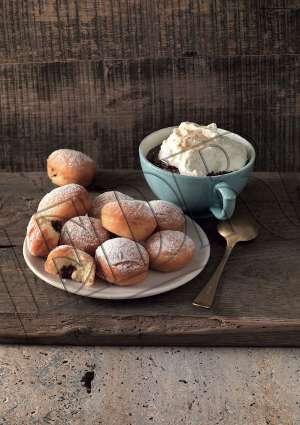 Ideal Patisserie Mini Krapfen à la crème de noisette