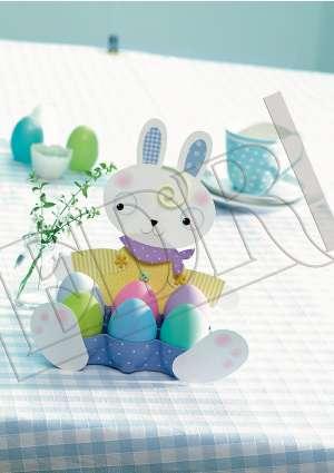 bricolage d'un présentoir d'oeufs pour Pâques