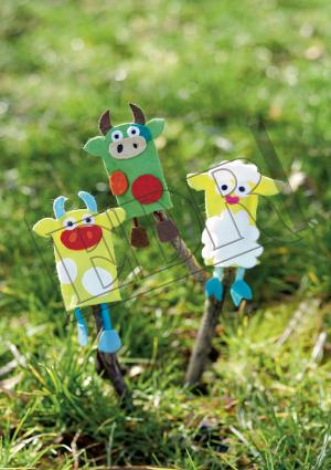 animaux marionnettes à doigts - bricolage