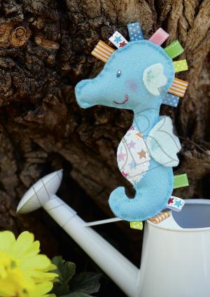 bricolage hippocampe enfants - ideal brico juniors