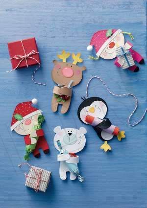Ideal_brico_enfants_noel_papier_pere_noel_ours