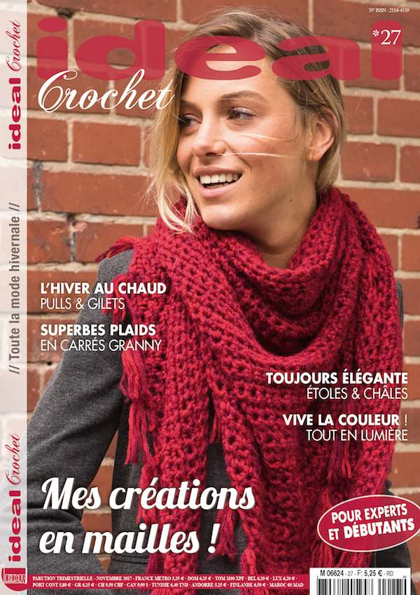 magazine Ideal Crochet 27 - editions de la rose