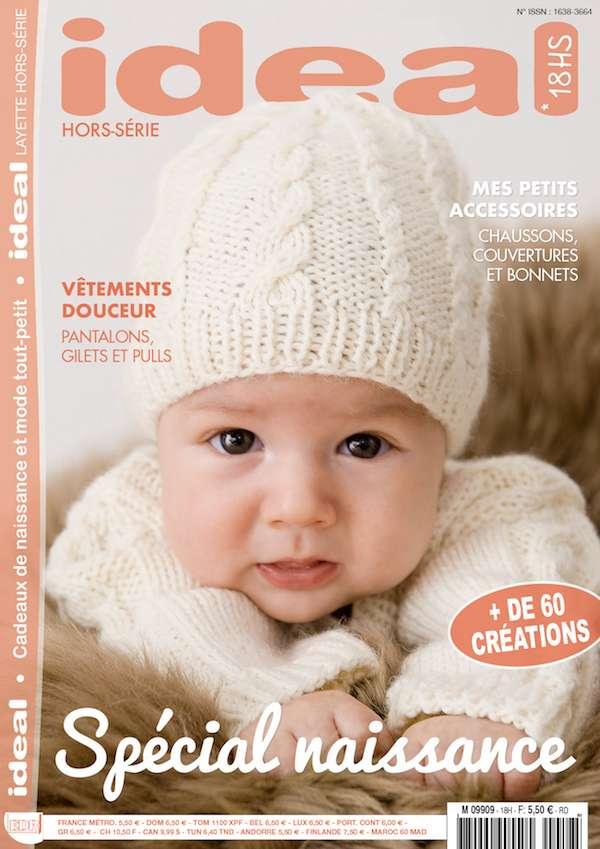 EDR - Ideal Layette magazine cadeaux naissance tricot bébé
