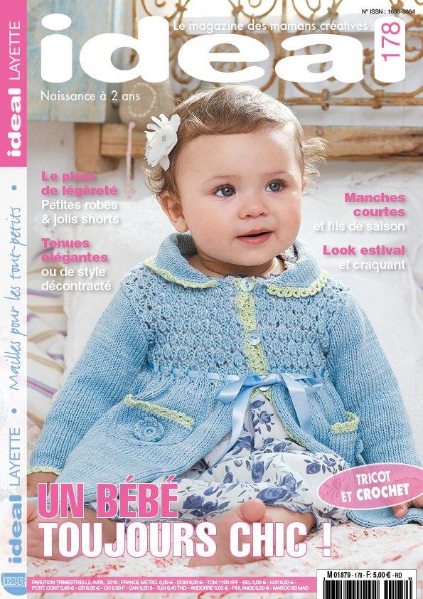 Ideal Layette tricot bébé élégant