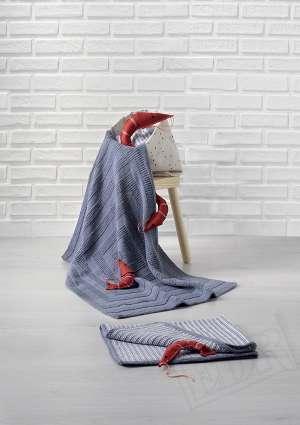 Tricot bébé couverture layette