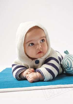 bébé tricot haut layette