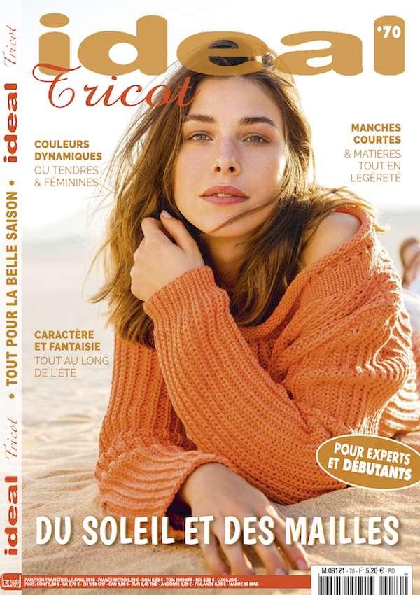 magazine modèles tricot été pull léger