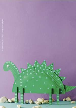 dinosaure carton brico