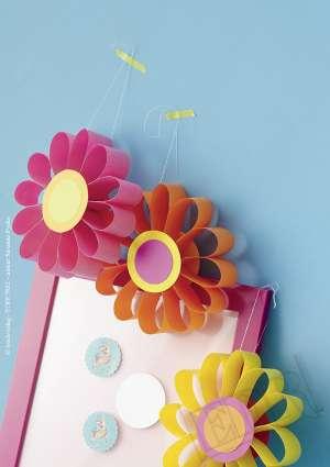 fleur découpage bricolage