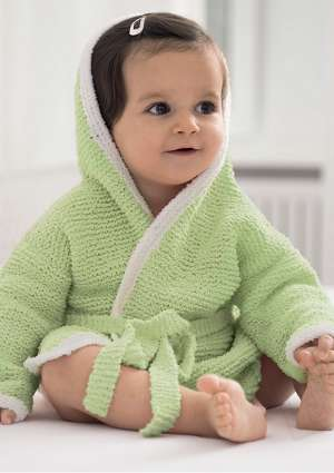 Ideal Layette 179 tricot peignoir